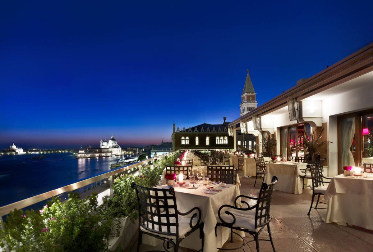 Dachterrasse Hotel Danieli