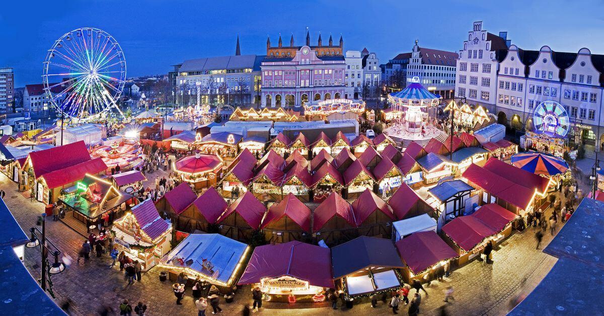 Wunderbarer Weihnachtstrubel Beliebte Weihnachtsmarkte In