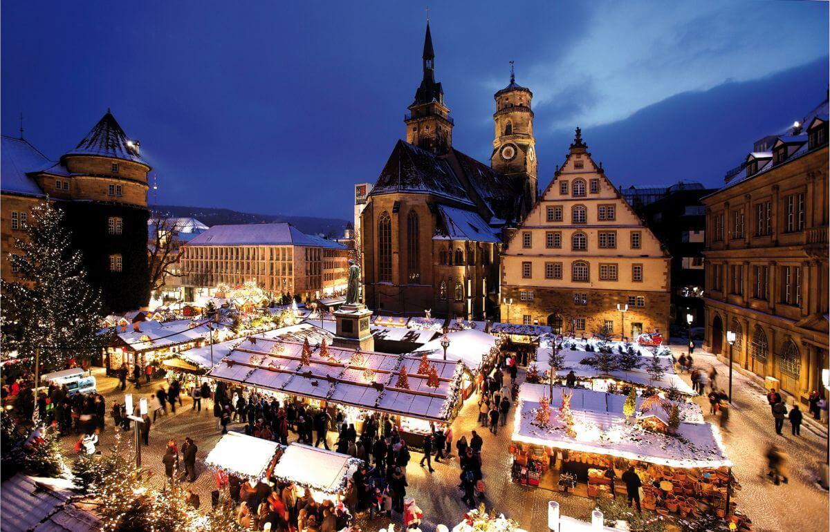Weihnachtsmärkte Deutschland Stuttgart