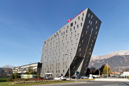 Das Hotel Ramada Innsbruck Tivoli