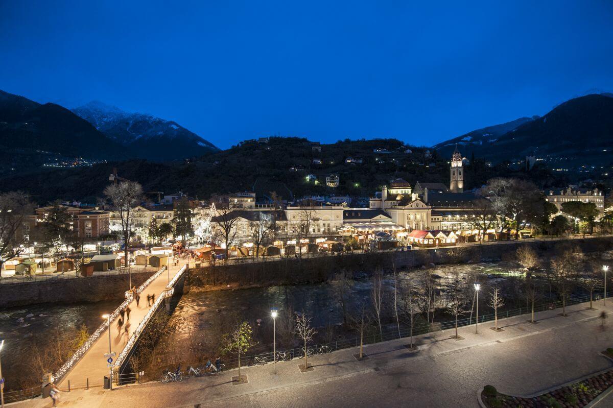 Weihnachtsmarkt in Meran Italien