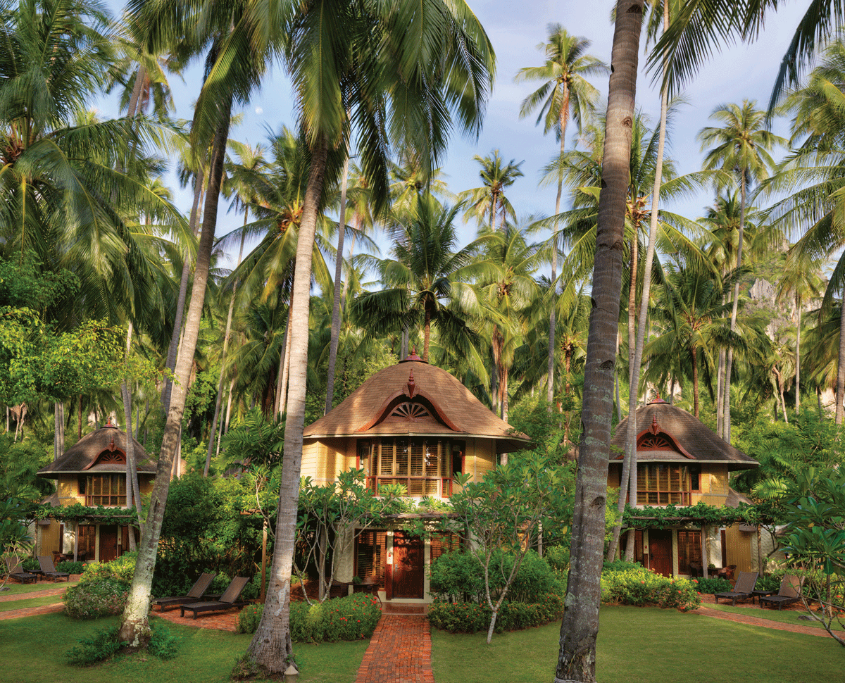 Rayavadee Hotel im Dschungel