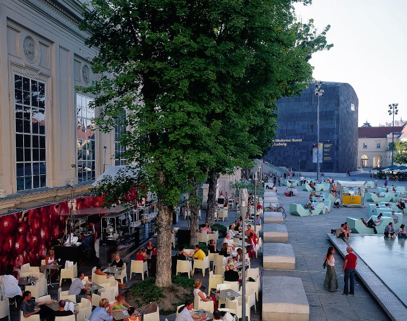 Das Museumsquartier Wien