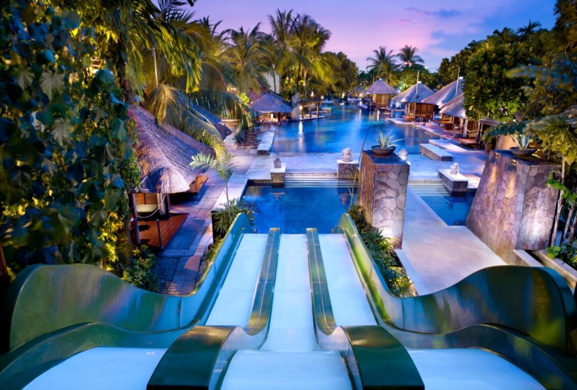 Rutschenpark vom Hard Rock Hotel Bali