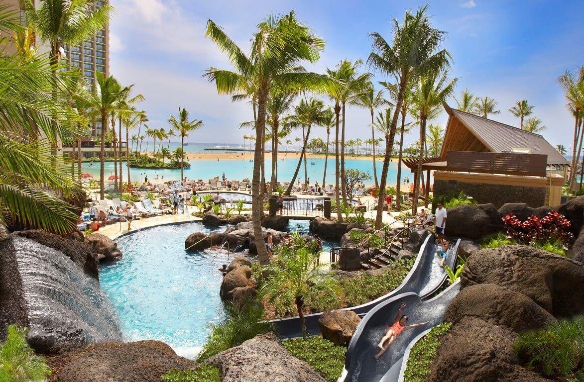 Hotel Hilton Hawaiian Village auf Oahu Hawaii