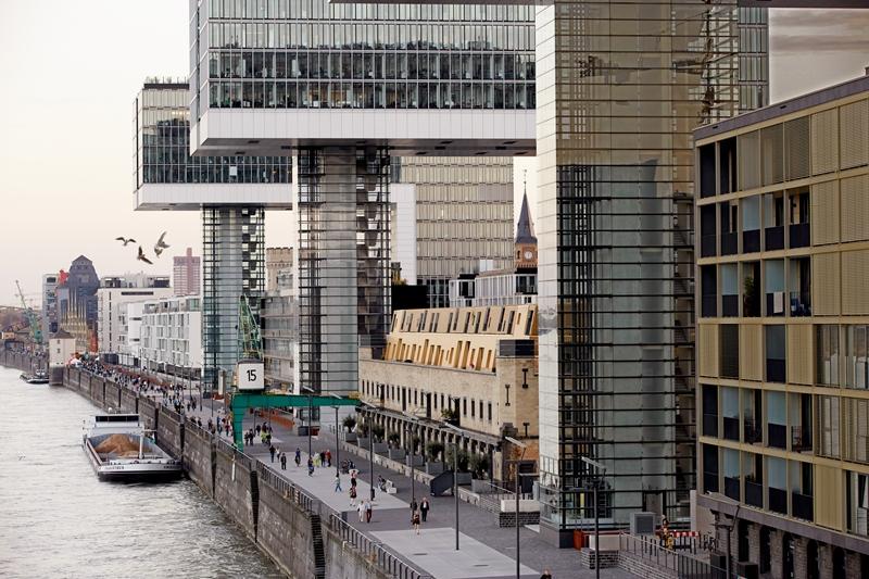 Kranhäuser von Köln