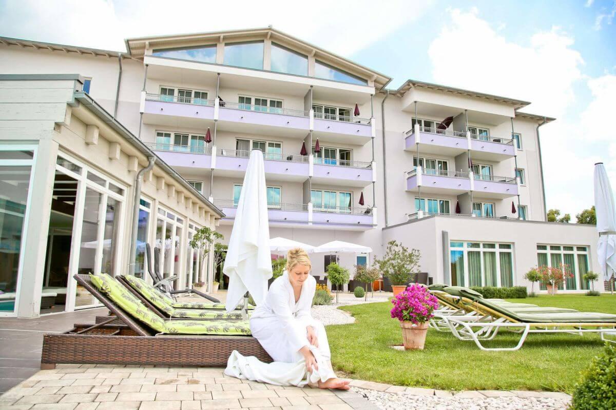 Aussenansicht Hotel Holzapfel