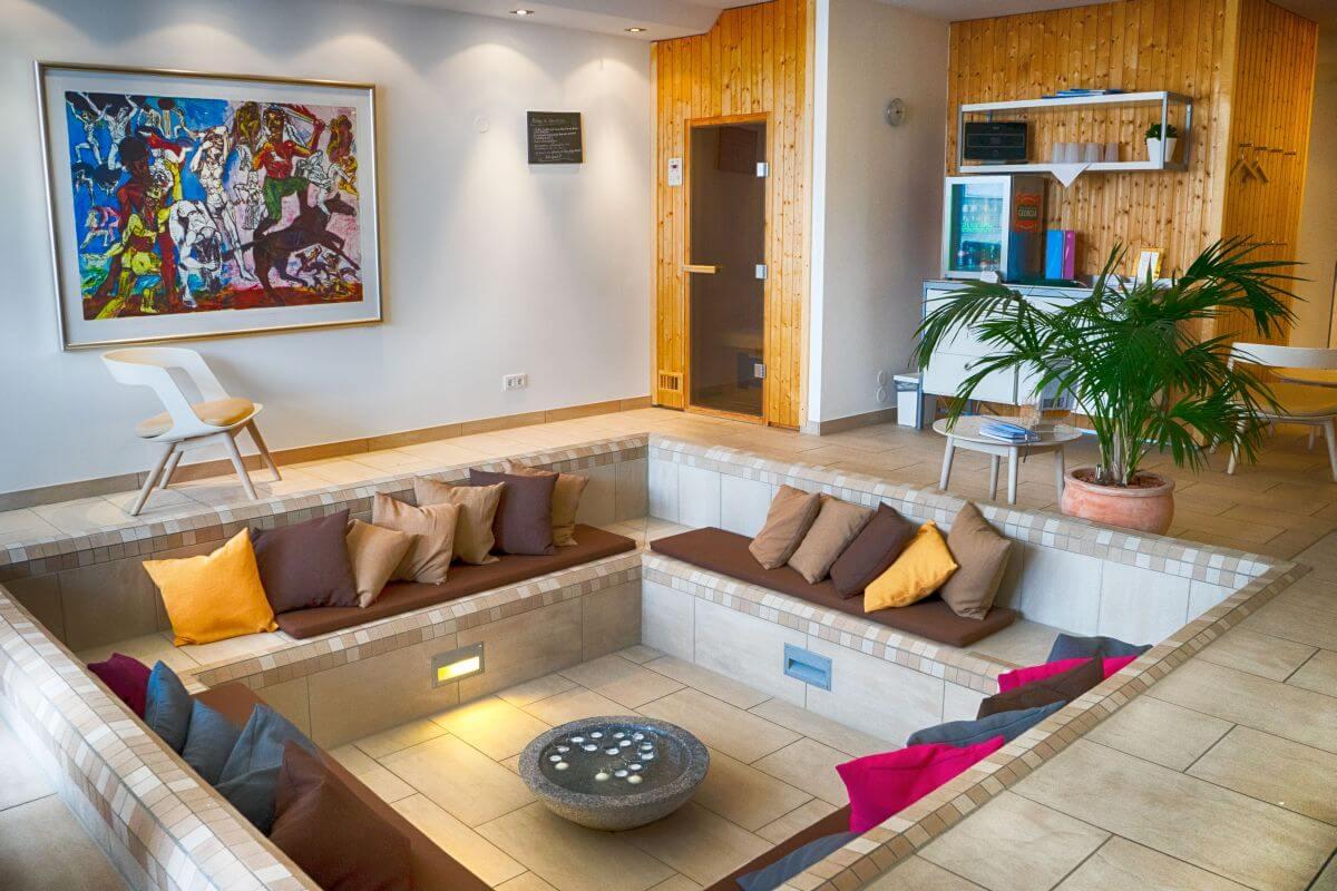 Wellnessbereich Hotel Njord Harz