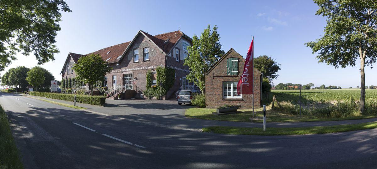 Außenansicht Familotel Frieslandstern Nordsee