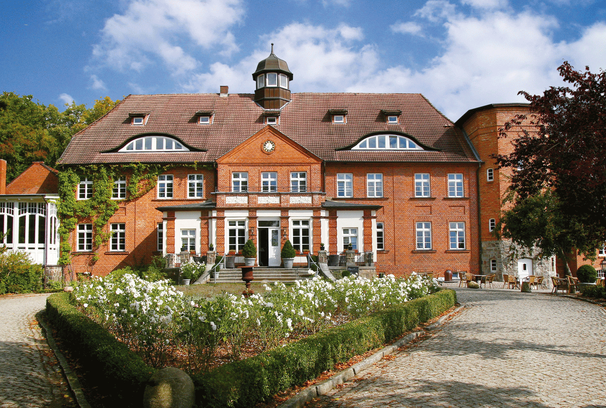 Hotel Schloss Basthorst eine Außenansicht