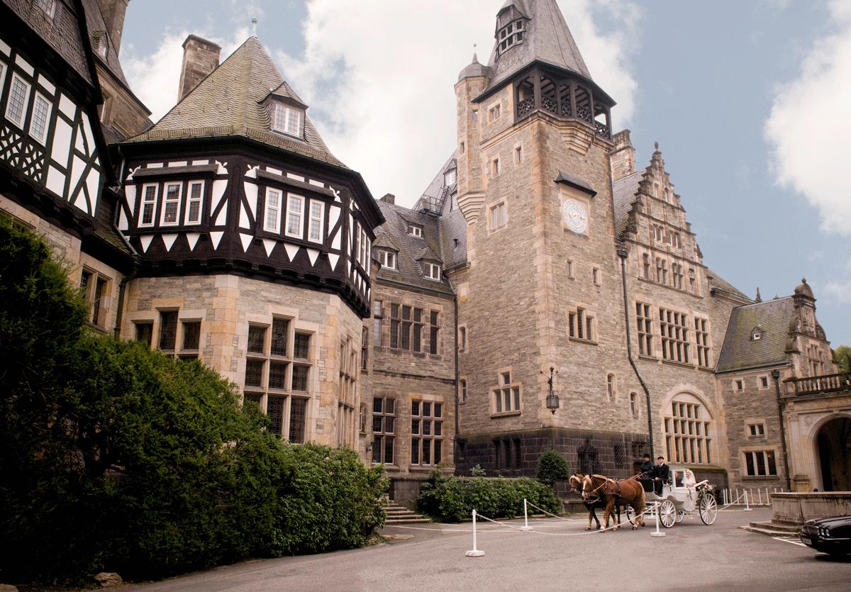 Blick auf Schlosshotel Kronberg