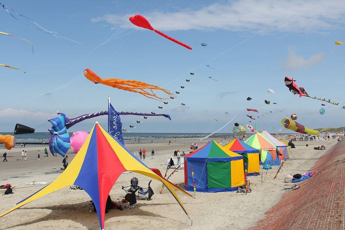 Strand Norderney Drachenflieger
