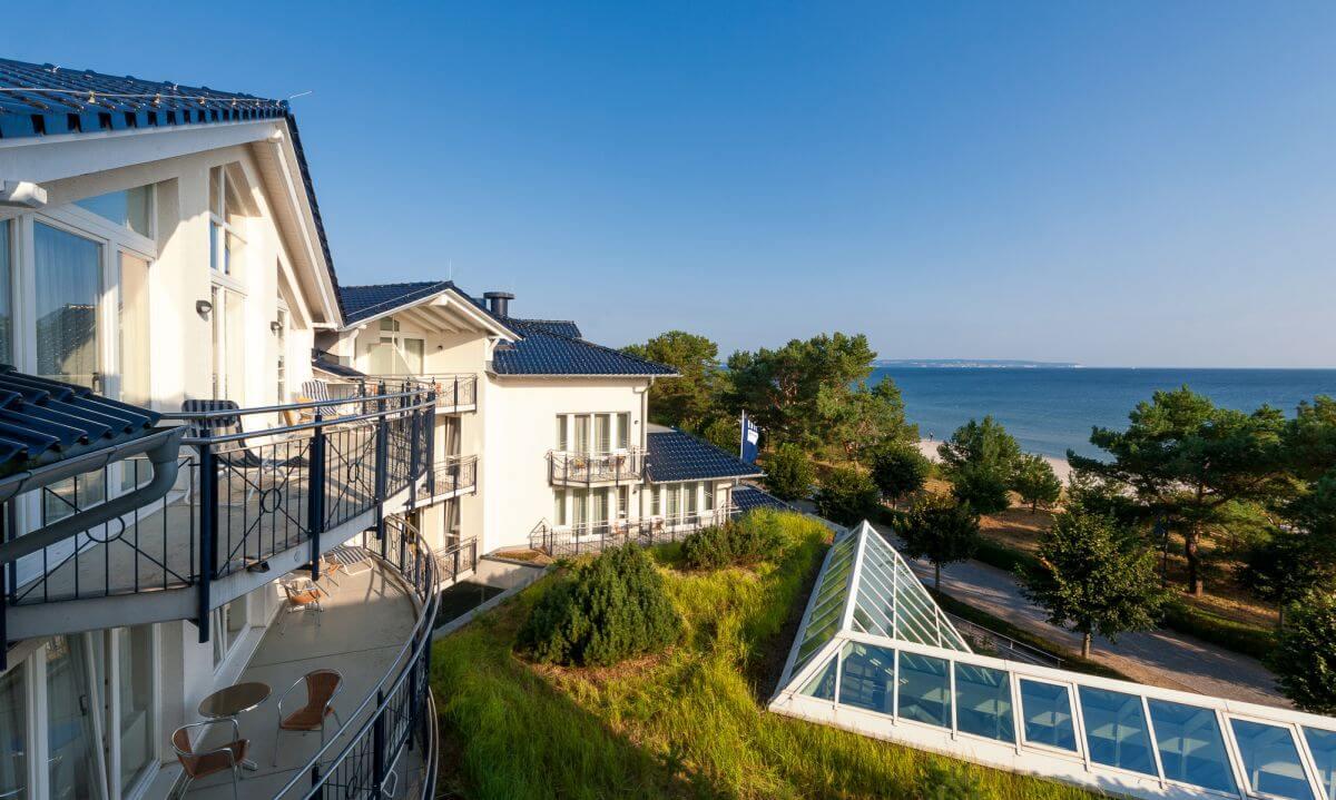 Dorint Strandhotel Binz Ostseeseite