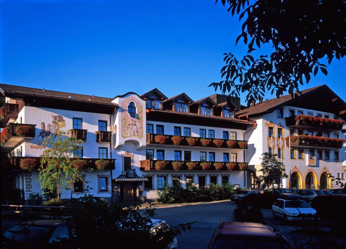 Zur Post Rohrdorf Hotelansicht