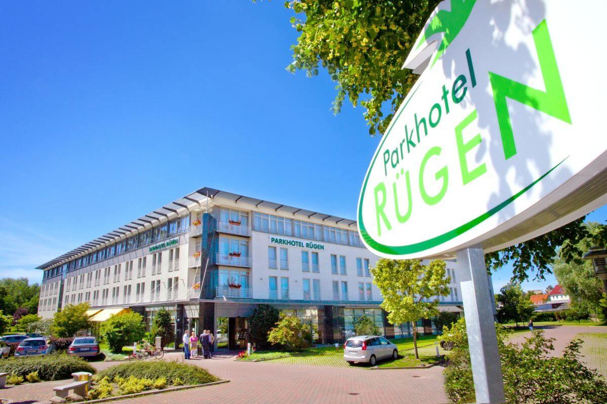 Parkhotel Ruegen Aussenansicht