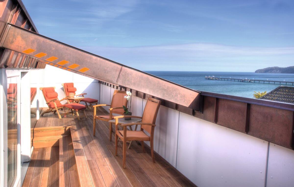 Strandhotel Binz Dachterrasse