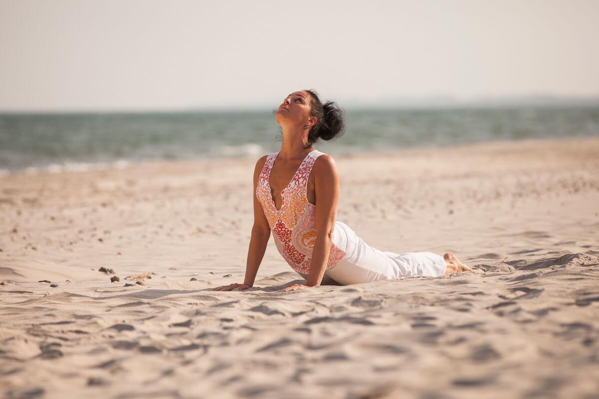 Yoga an der Ostsee (c) Dünenmeer