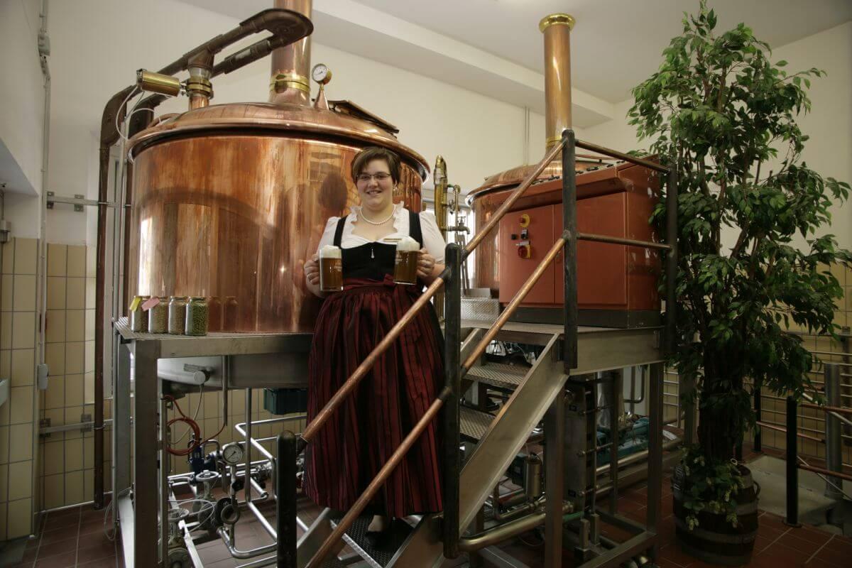Hotel Akzent Brauerei Hirsch Brauereikessel