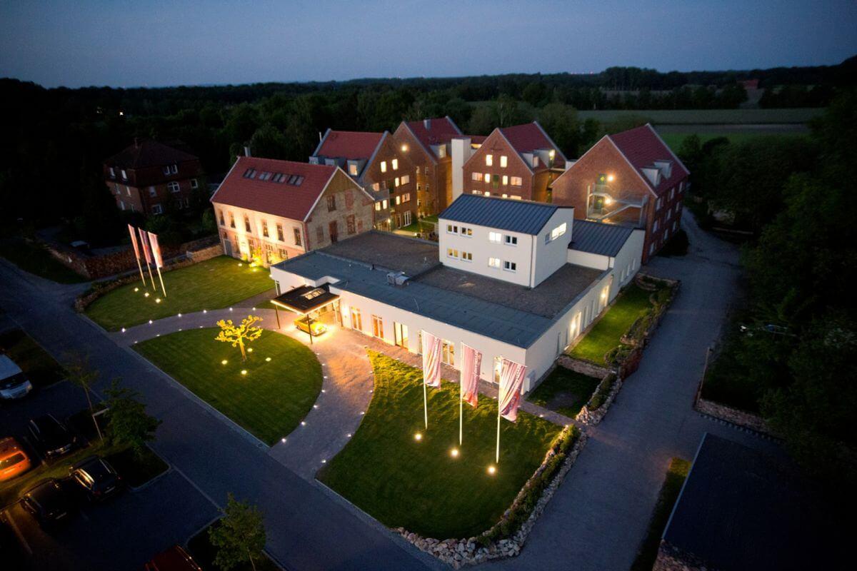 Luftbild Landhotel Beverland