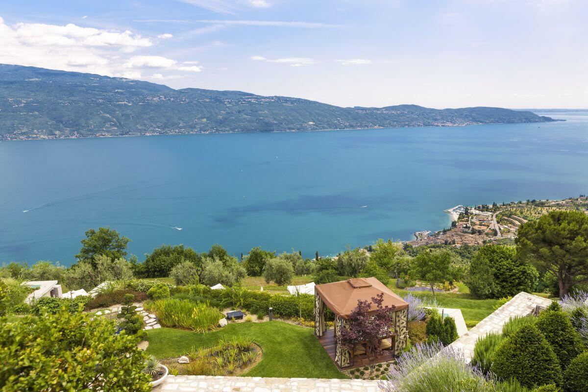 Gourmethotel Lefay Resort & SPA Lago di Garda Gartenanlage