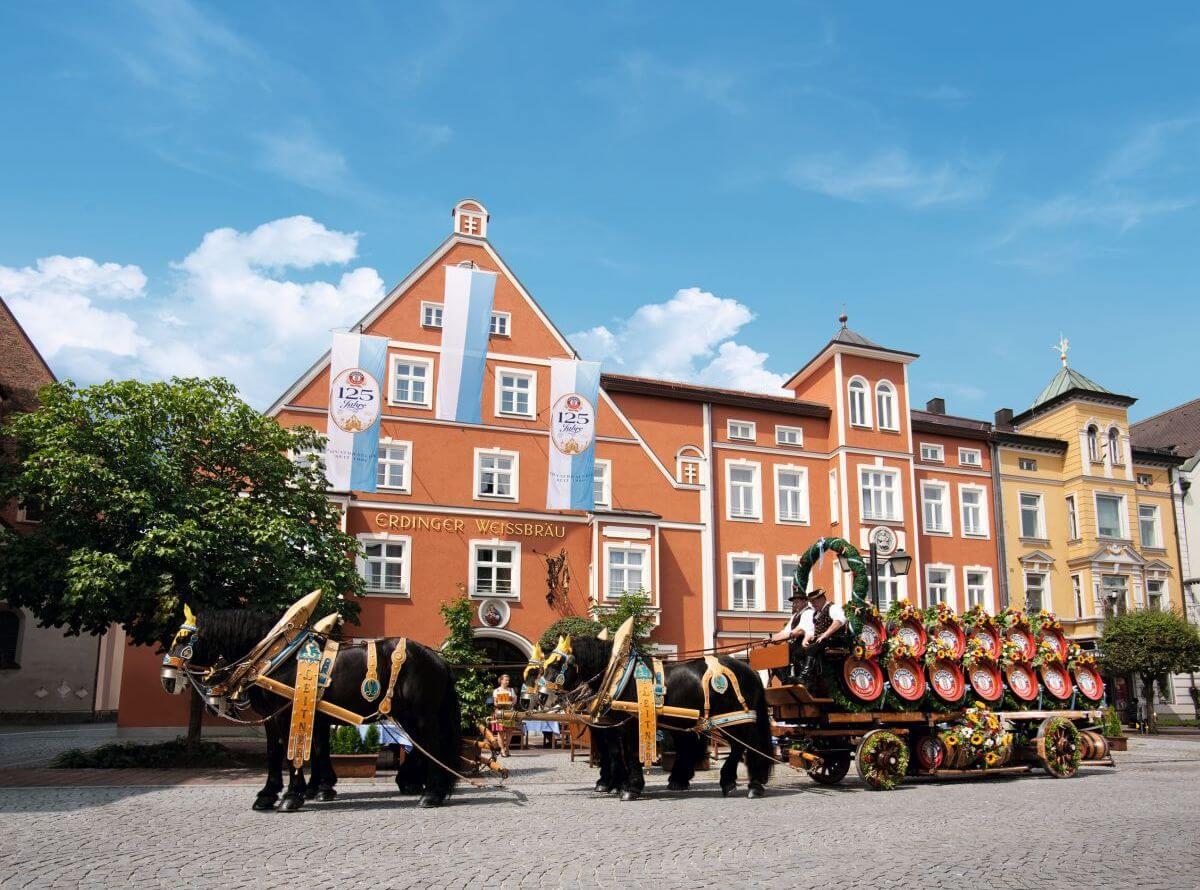 Stammhaus des Erdinger Weißbräu