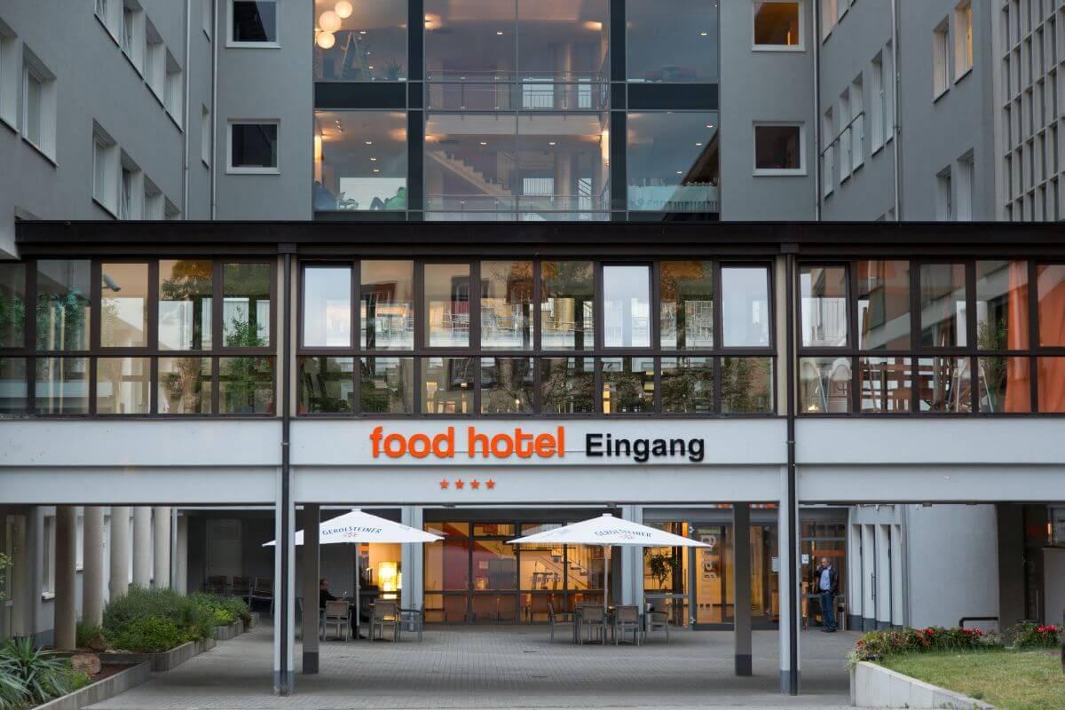 food hotel aussenansicht
