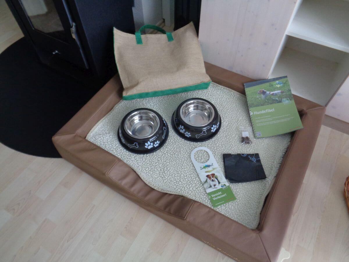 Hundefreundliches Hotel Paket für den Hund Dorfhotel Sylt