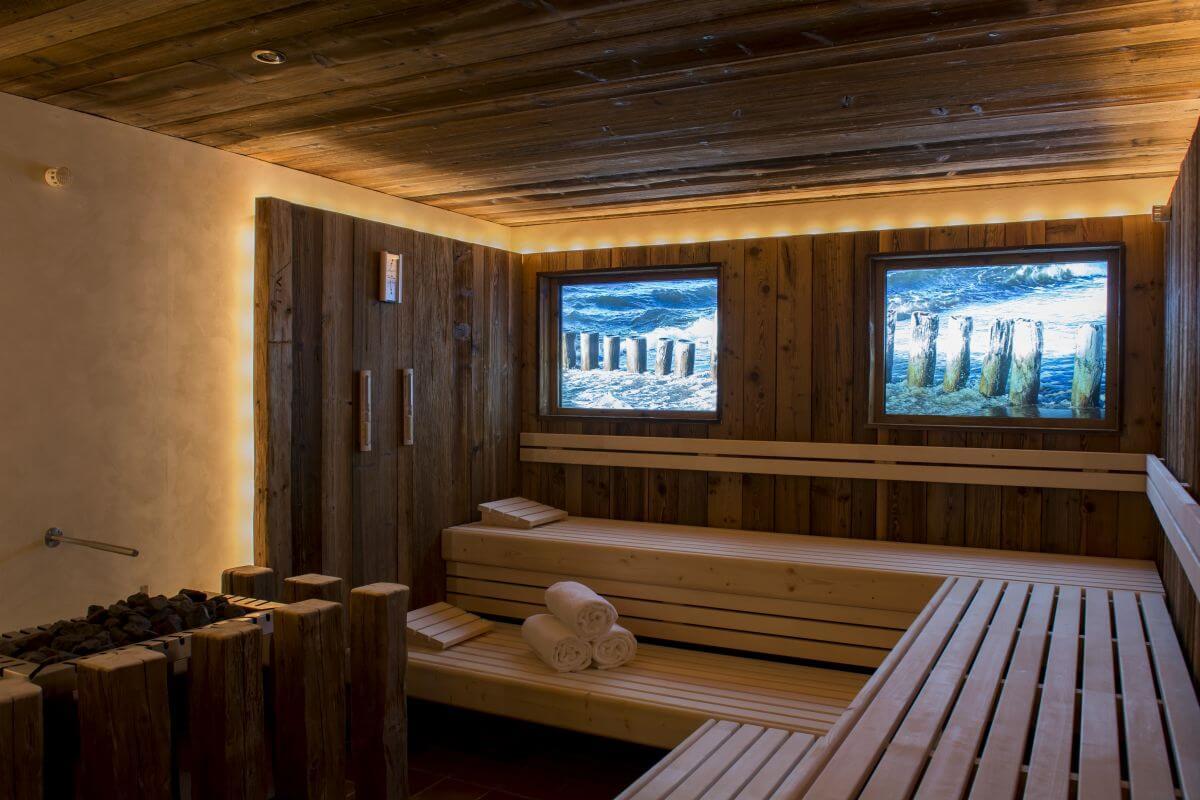 Sauna für Herrchen und Frauchen