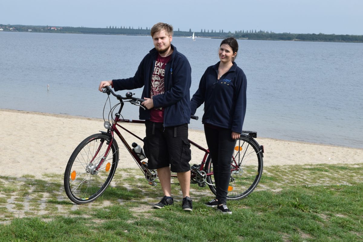 Fahrradtour mit dem Tandem vom Hotel Goldener Adler aus