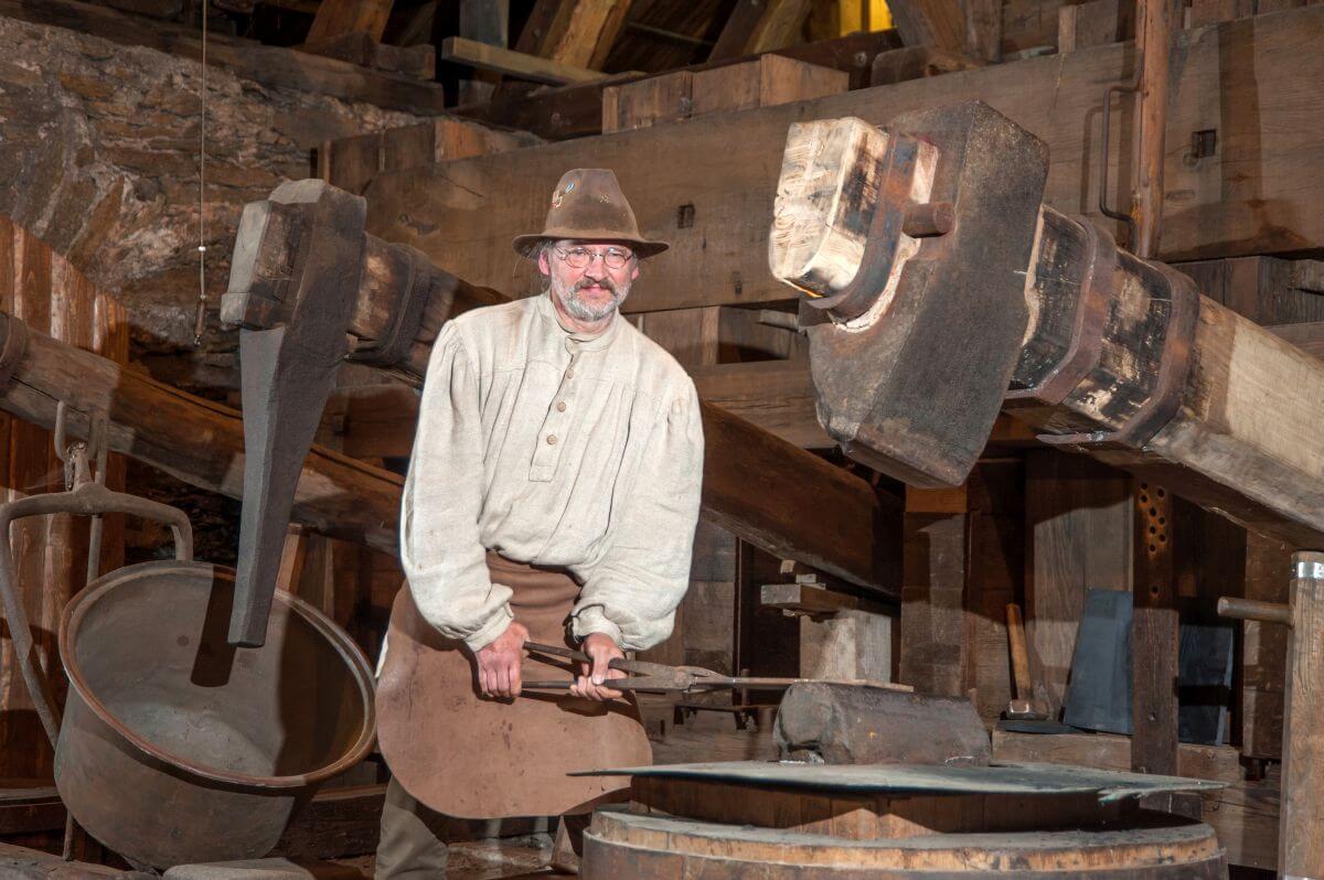 """Hammerwerk """"Althammer"""" im Erzgebirge"""
