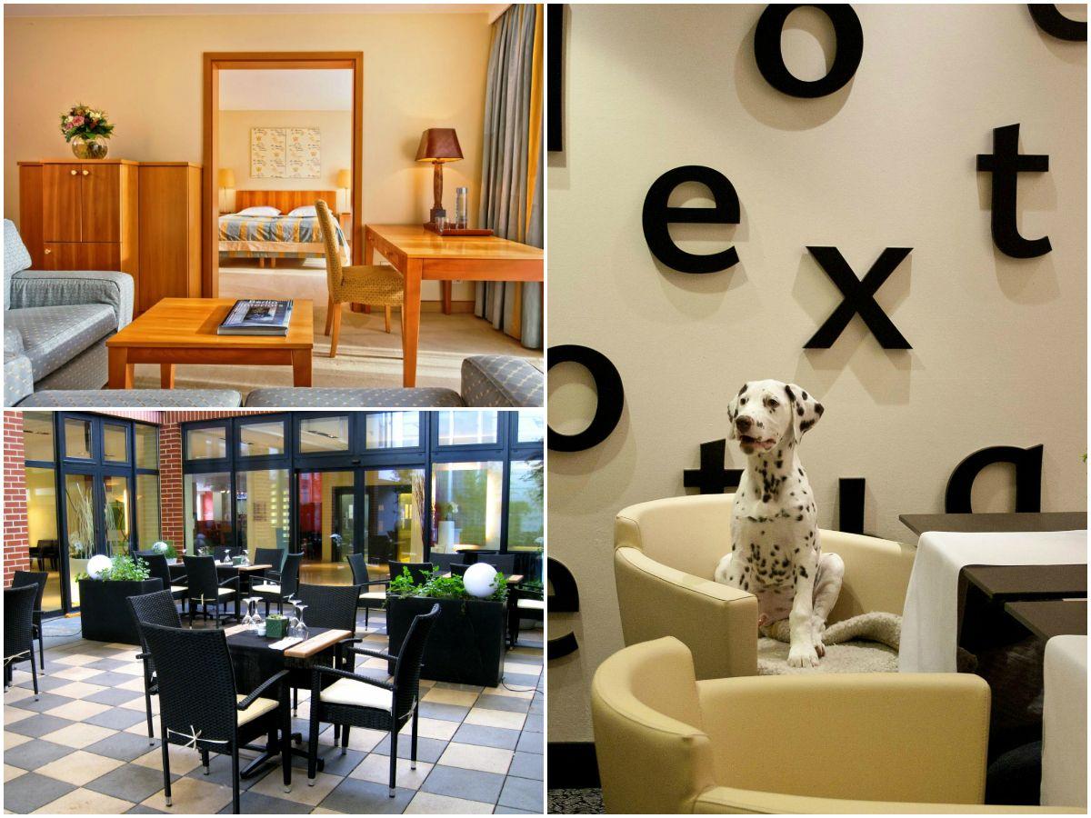 Räume, die für Hunde erlaubt sind im Relexa Hotel Berlin