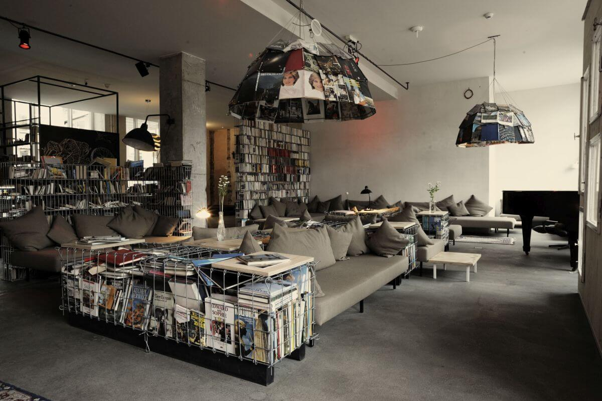 Hotel mit Bibliothek in Berlin