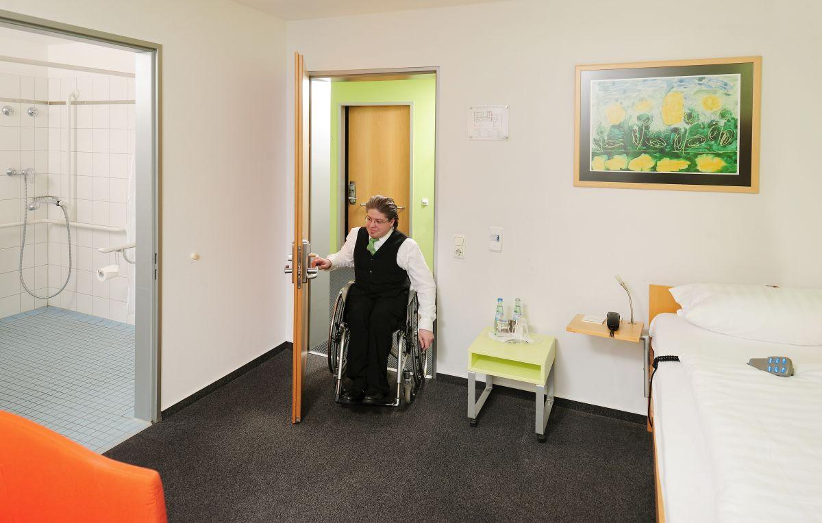 Rollstuhlgerechtes Zimmer
