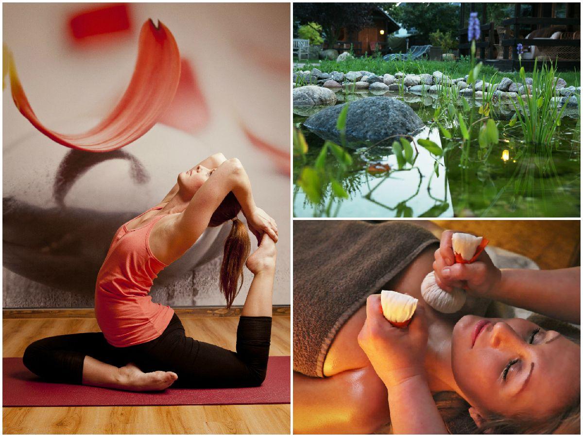 Yoga und Wellnessanwendungen im Hotel Seeschlösschen