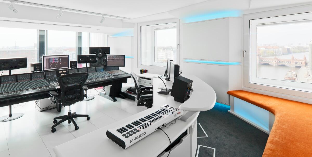 Aufnahmestudio nhow Hotel Berlin