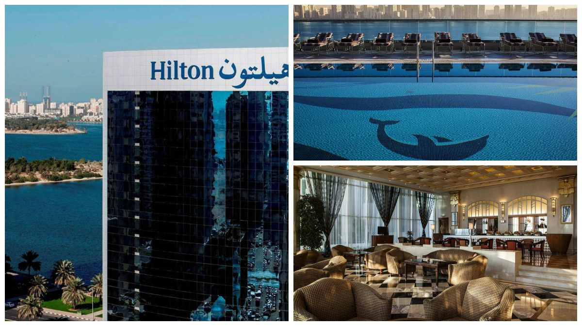 Vorsätze-Sharjah-Hotel Hilton-Collage