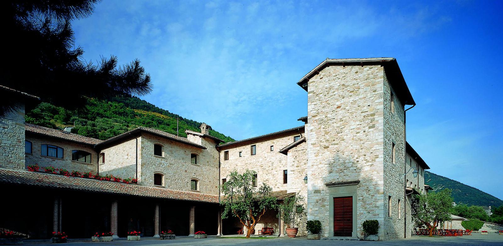 Hotel ai Cappuccini esterno Gubbio