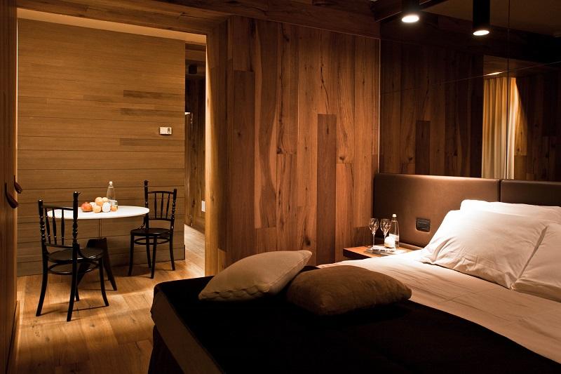 Una camera dell'Hotel Alexander