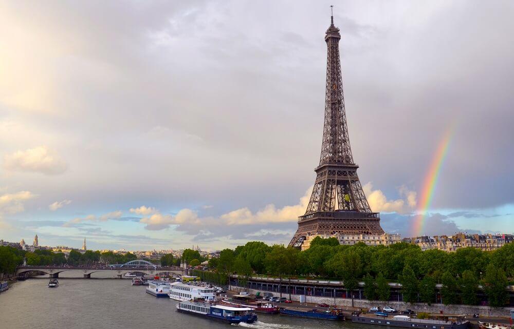 Parigi: la Torre Eiffel