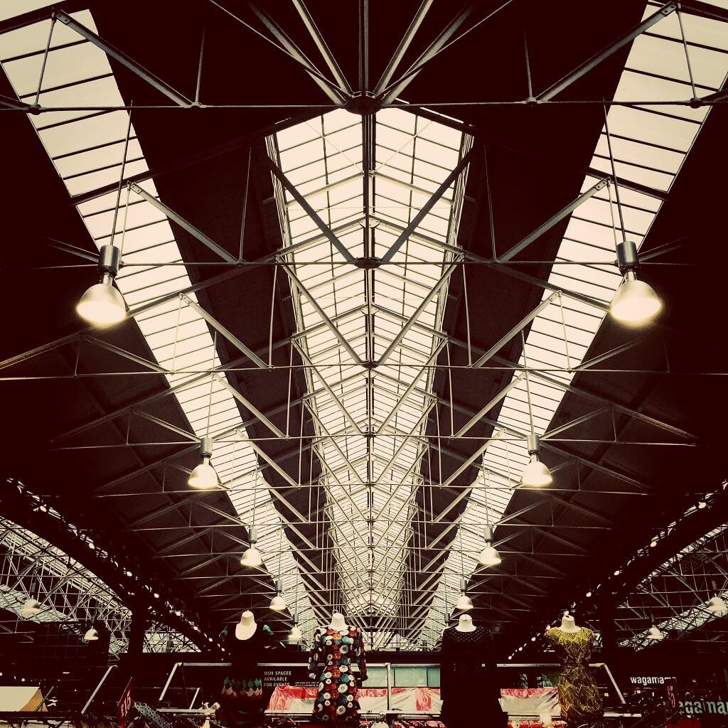 Old Spitalfields Market roof