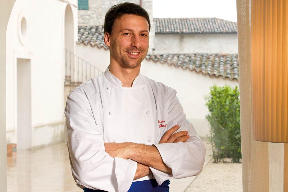 Falvio Faedi - chef Palazzo Seneca