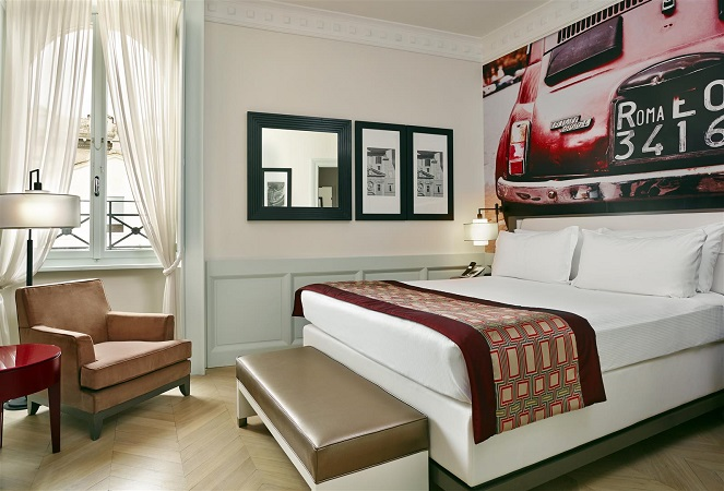 L'hotel Indigo a Roma