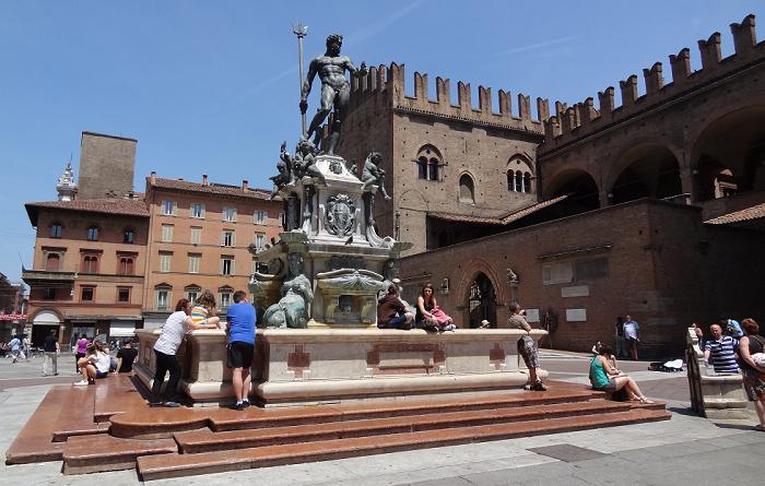 Piazza Maggiore Bologna  © Beatriz Huélamo