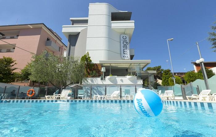 Magic Hotel - Riccione - Piscina