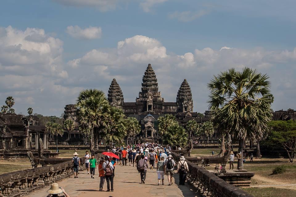 Il viale che porta ad Angkor Wat - Francesco Venturini © All rights reserved