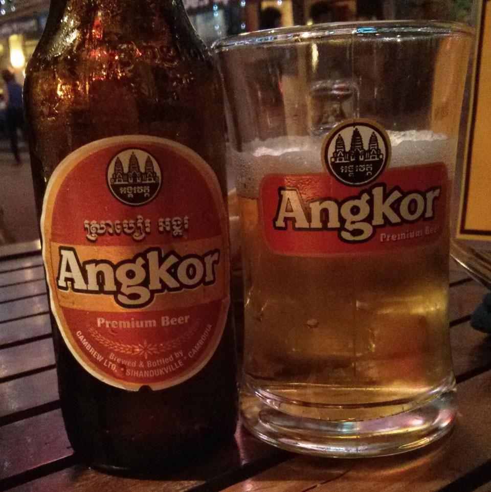 La birra Angkor - il gusto della Cambogia