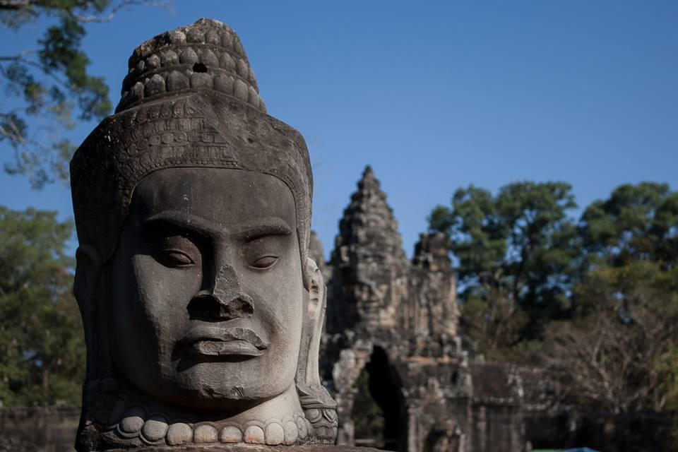 L'ingresso di Angkor Thom - Francesco Venturini © All rights reserved