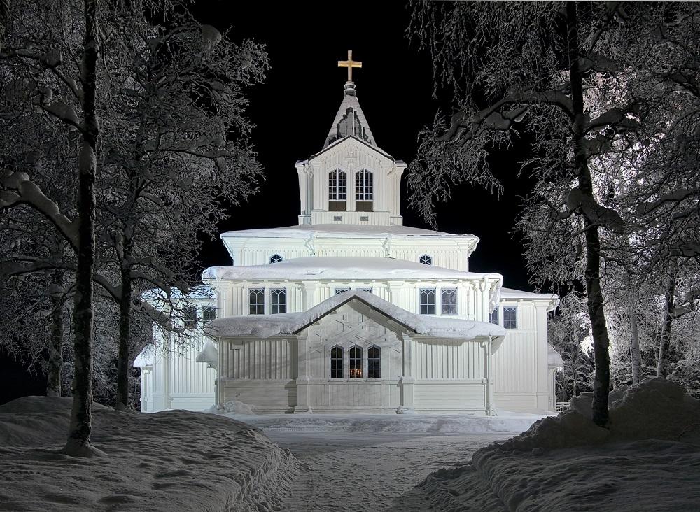 La chiesa di Gallivare - fotolia © Mikhail Markovskiy