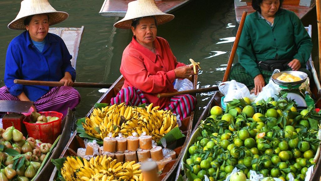 Floating Market, Damneon Saduak - cliccate e scoprite la Thailandia su trivago!