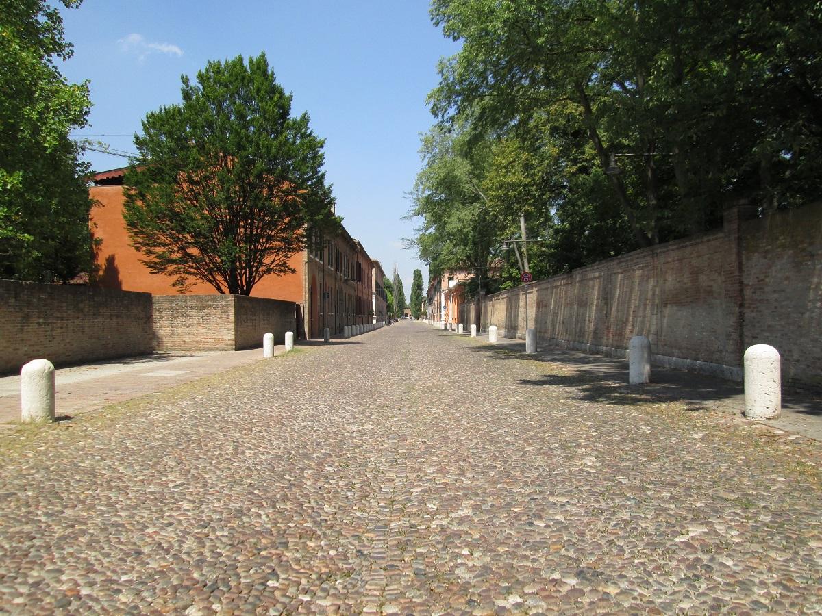 Corso Ercole I d'Este, Ferrara - ph. Daniela Dirani